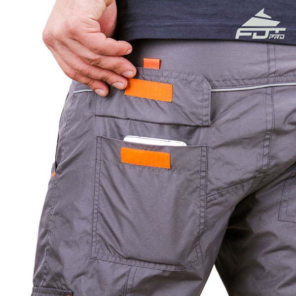 Comfortable Design FDT Pro Pants with Useful Side Pockets for Dog Training