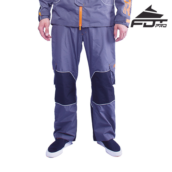 FDT Pro Pants of Grey Color for Everyday Use