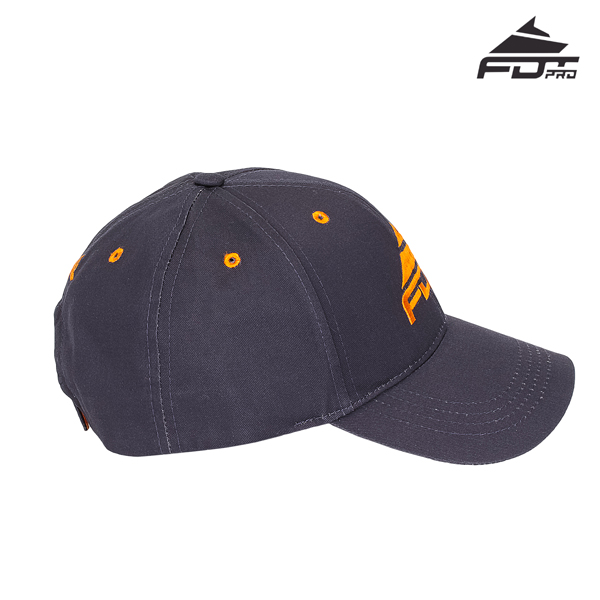 Durable Easy to Adjust Snapback Cap for Dog Trainers
